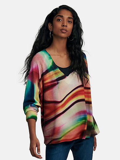 Cashmere Victim - V-Pullover aus 100% Kaschmir