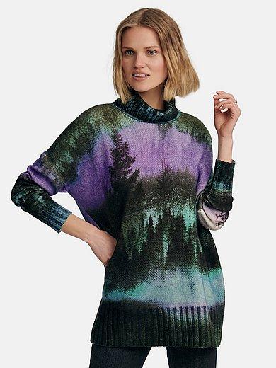 Cashmere Victim - Roll-neck jumper design Jana in 100% cashmere