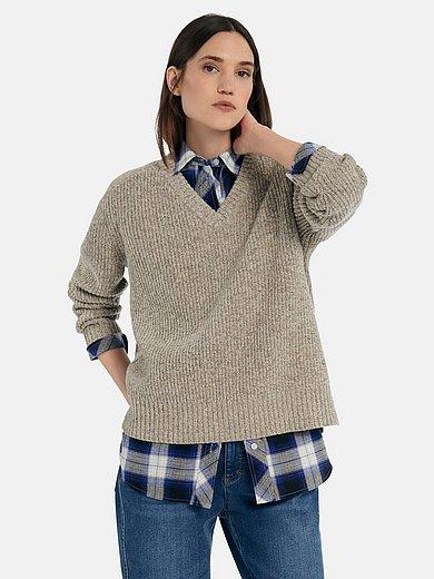 DAY.LIKE - Pullover mit V-Ausschnitt