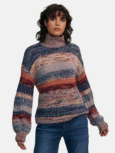 portray berlin - Pullover mit Stehbundkragen