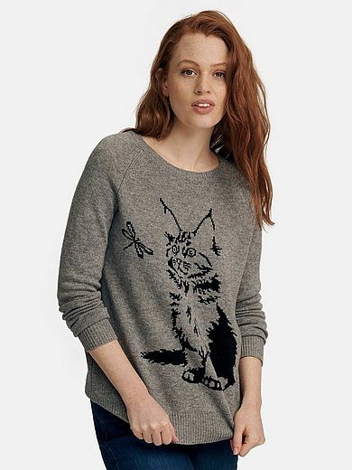 FLUFFY EARS - Rundhals-Pullover