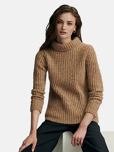 Fadenmeister Berlin - Straight cut rib knit jumper