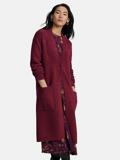 St. Emile - Knitted coat with long sleeves and V-neck