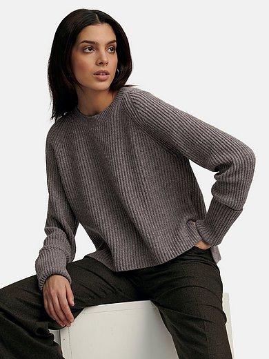 (THE MERCER) N.Y. - Round neck jumper made of 100% premium cashmere