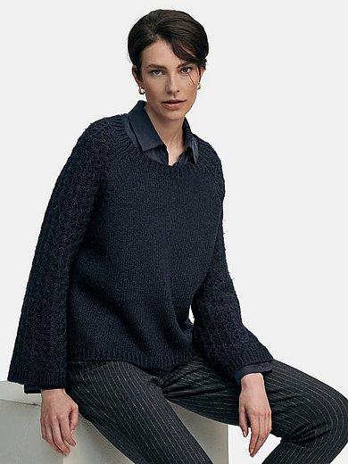 tRUE STANDARD - Rundhalsad tröja med långa raglanärmar