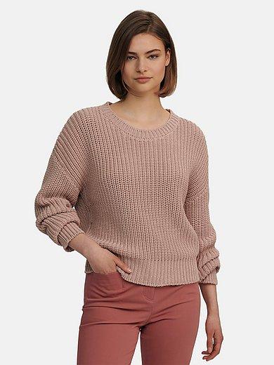 Riani - Purl knit round neck jumper