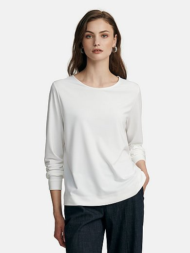 Fadenmeister Berlin - Jersey blouse with long sleeves
