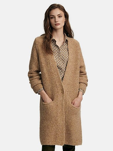 Fadenmeister Berlin - Knitted coat with V-neck