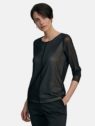 tRUE STANDARD - Round neck top with long sleeves