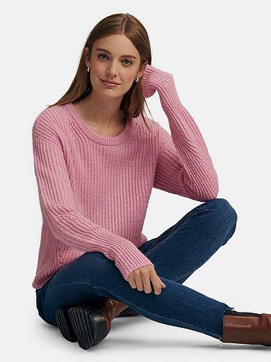 MYBC - Rundhals-Pullover in kurzem Style