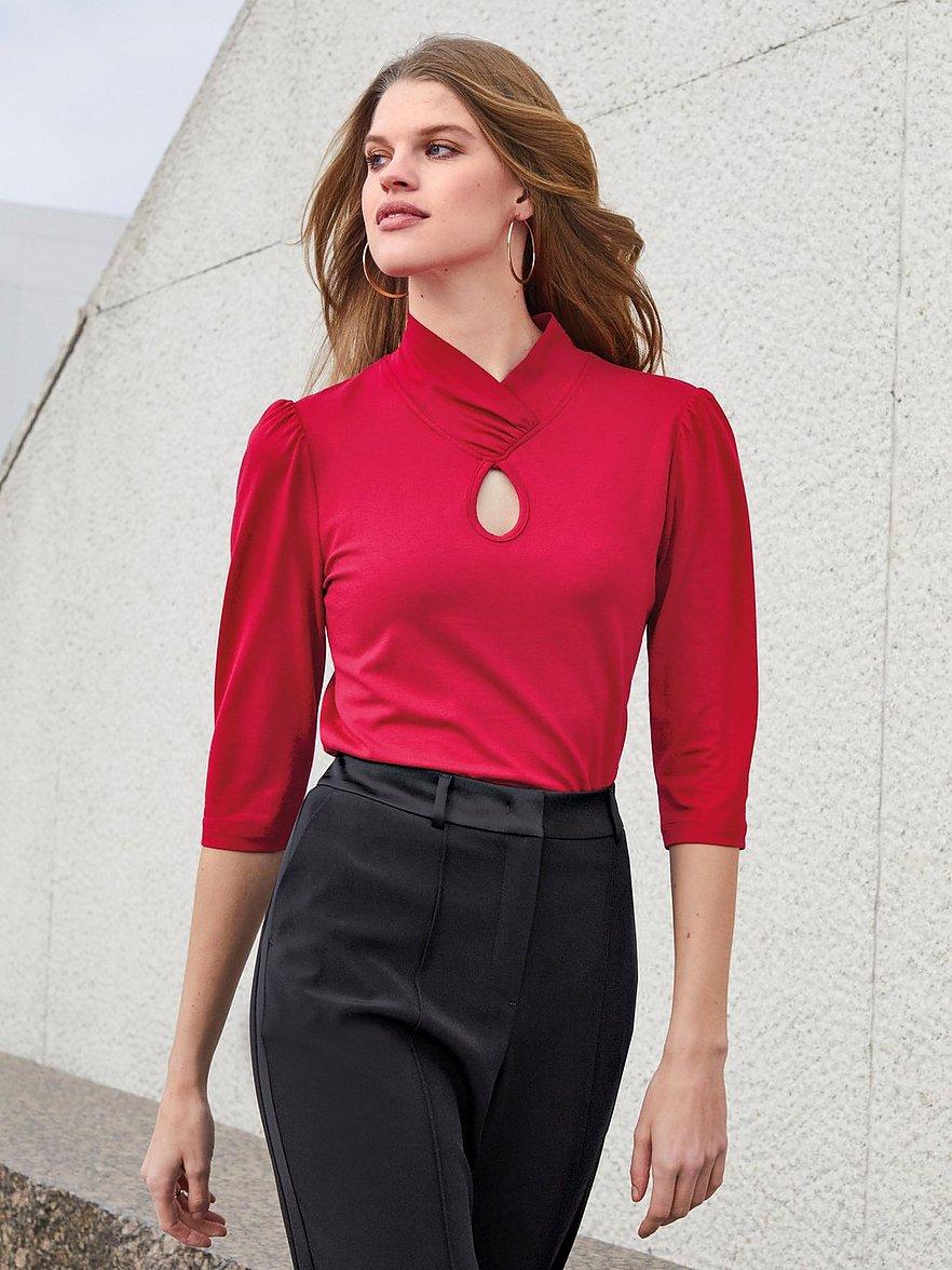 uta raasch - Shirt 3/4-Arm  rot Größe: 46