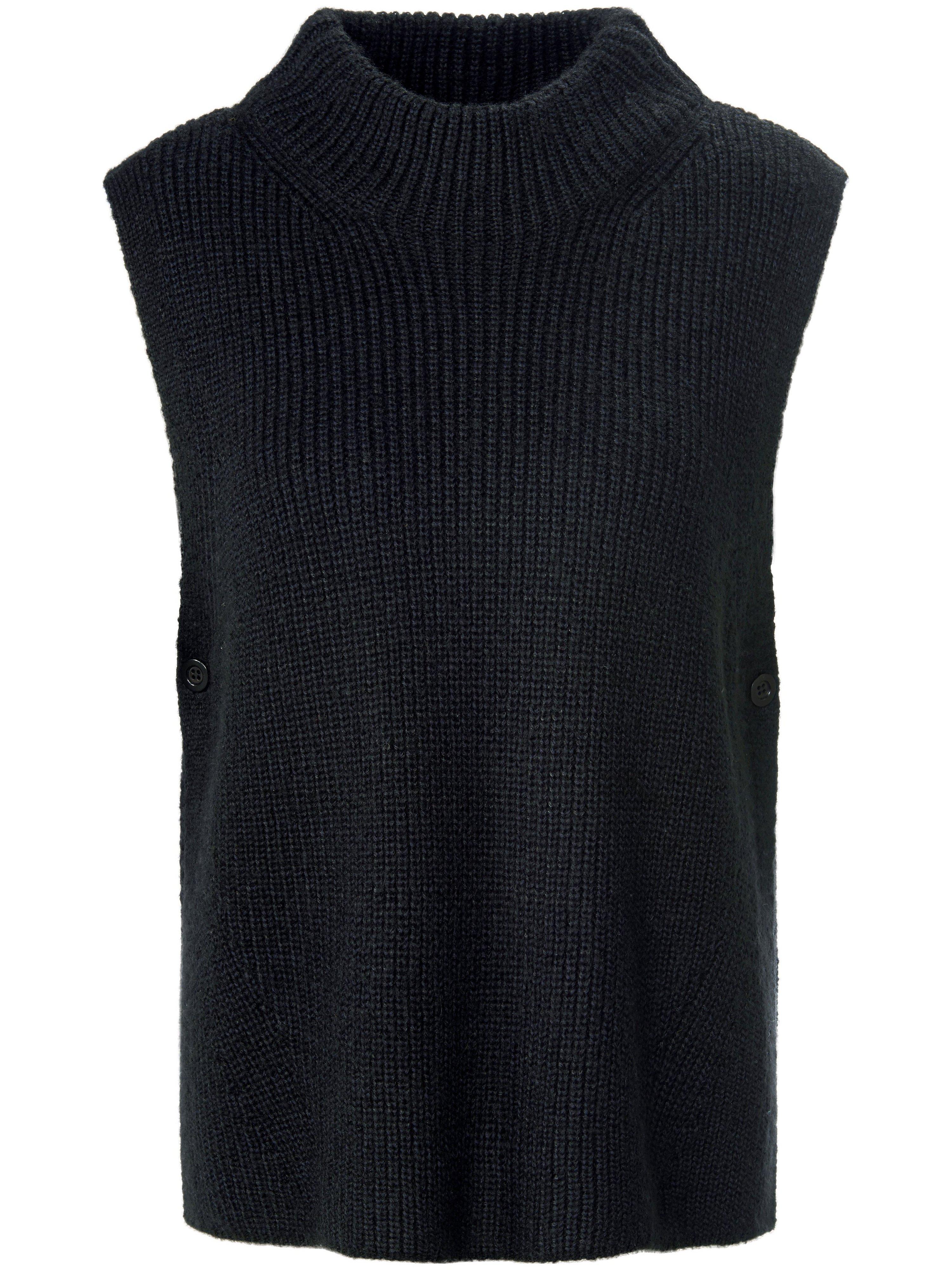 Slip-over sierknoop bij de open zijkanten Van MYBC zwart