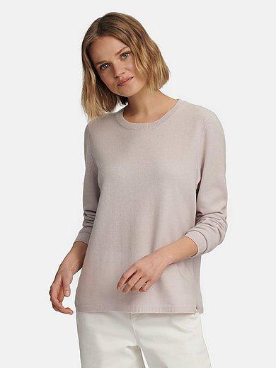 include - Rundhalsad tröja av 100% kashmir