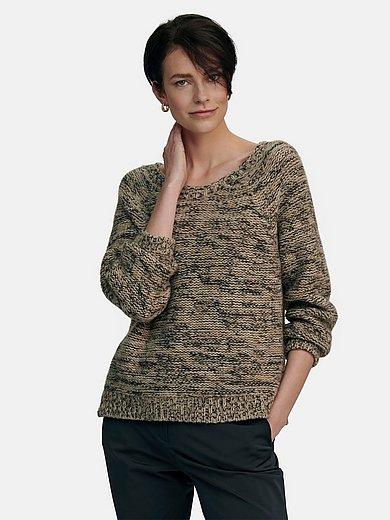 tRUE STANDARD - Round neck jumper in 100% cashmere