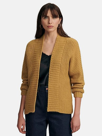 include - Chunky knit cardigan with long sleeves