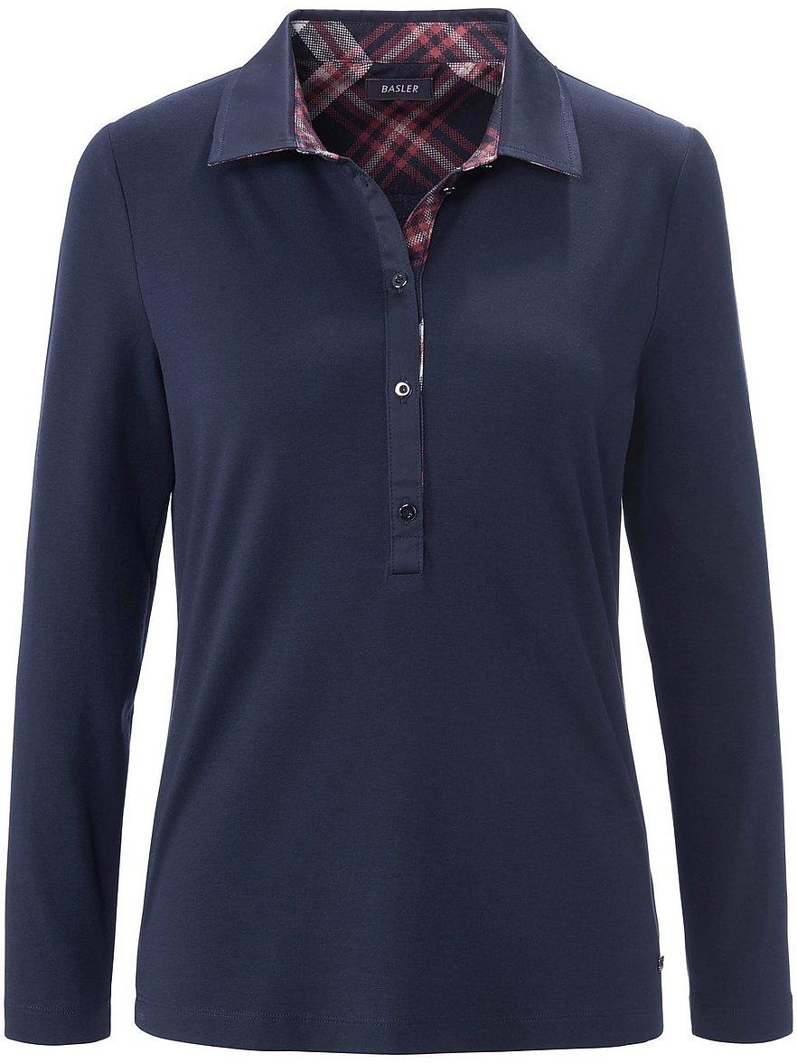 basler - Polo-Shirt  blau Größe: 50