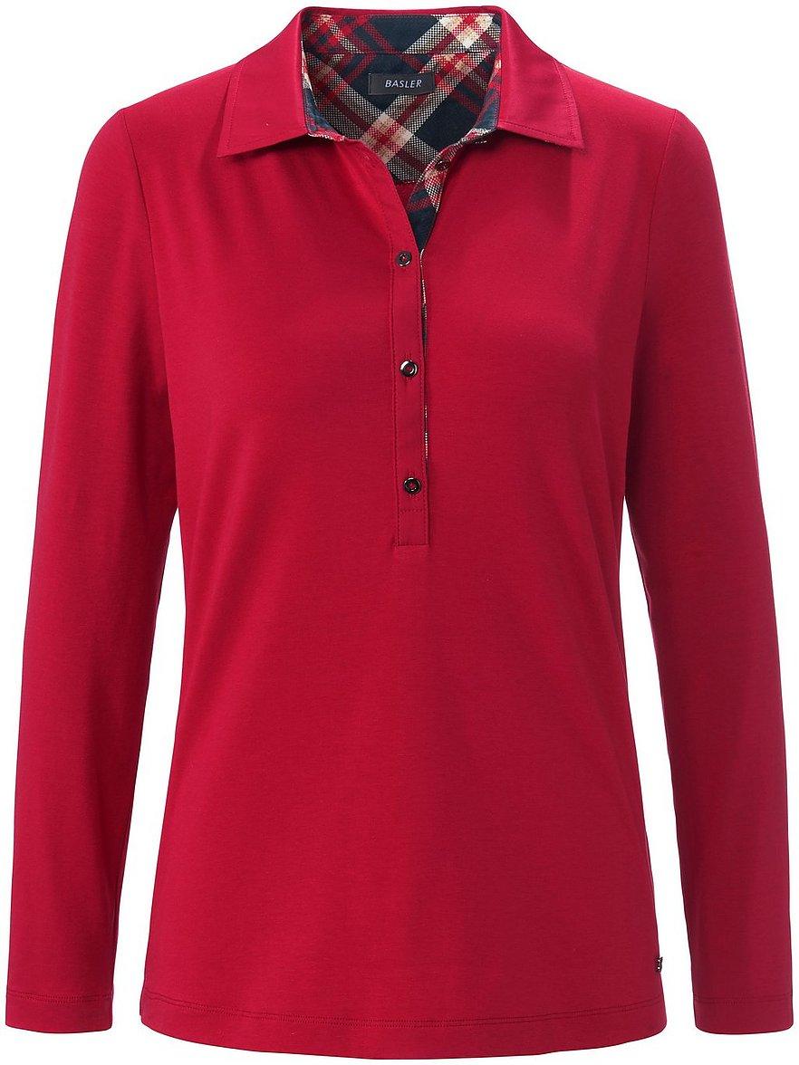 basler - Polo-Shirt  rot Größe: 50