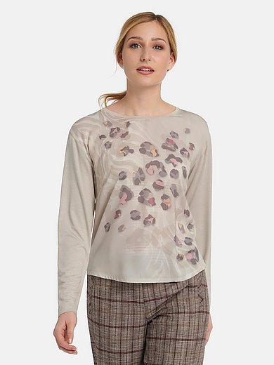 Basler - Rundhals-Shirt mit überschnittenen Schultern