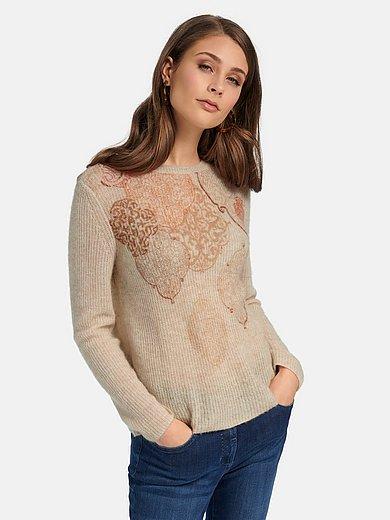 Basler - Purl knit round neck jumper