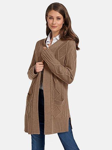 Basler - Le gilet long 100% laine vierge