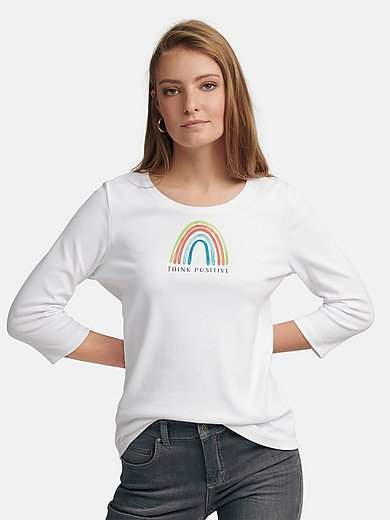 ZAIDA - Rundhals-Shirt mit 3/4-Arm
