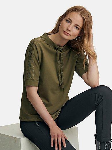 Betty Barclay - Sweatshirt with snakeskin print