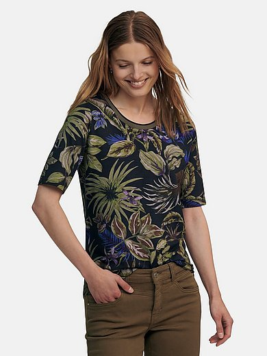 Betty Barclay - Round neck top with floral print