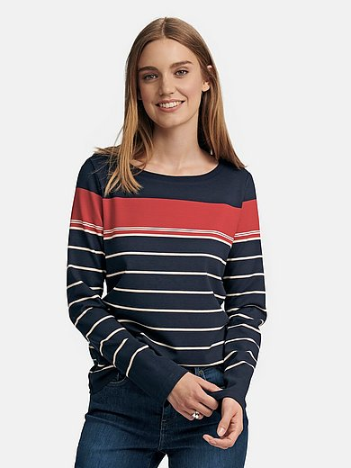 teeh`s - Striped round neck top