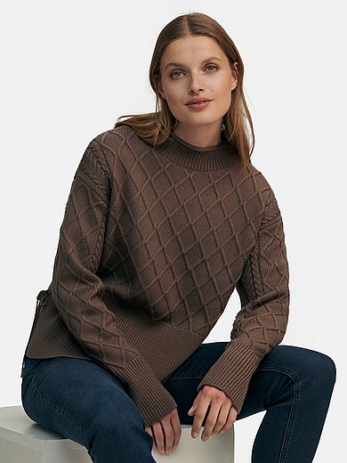 Joop! - Jumper with stand-up collar