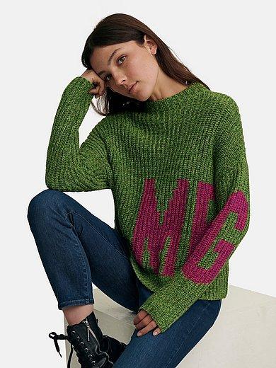 oui - Pullover mit Stehbund