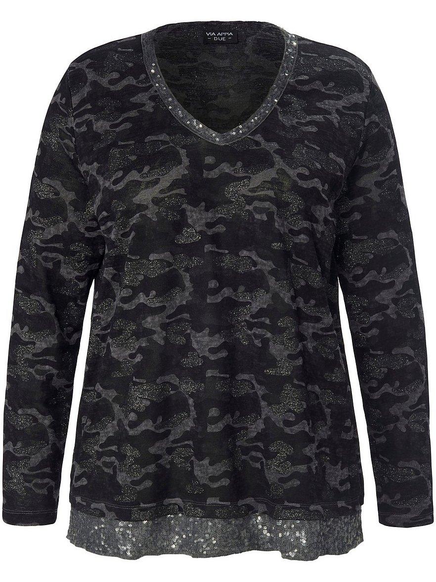 via appia due - T-Shirt  schwarz Größe: 48