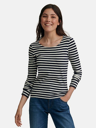 GANT - Round neck top with long sleeves