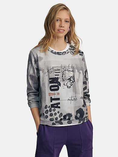 Margittes - Sweatshirt with animal motifs