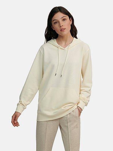 Margittes - Lång hoodiesweatshirt