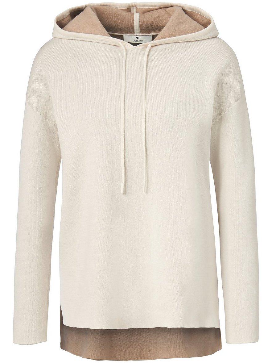 peter hahn pure edition - Kapuzen-Pullover  weiss Größe: 36