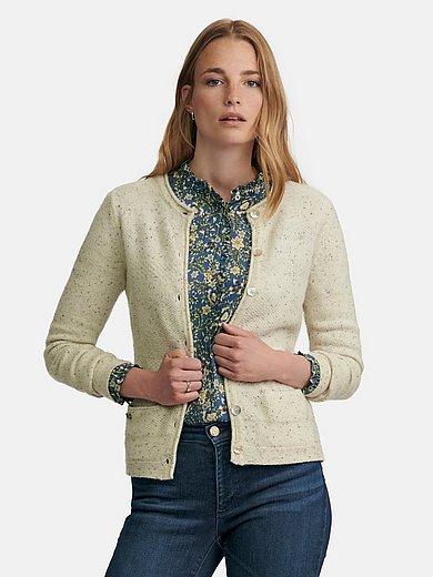 Hammerschmid - Country style cardigan with round neckline