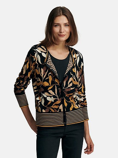 Betty Barclay - Reversible cardigan with 2 different sides