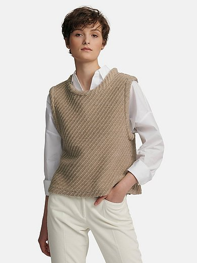 Louis and Mia - Slipover with a classy look and diagonal knit
