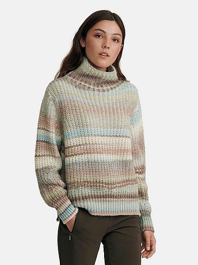 oui - Pullover mit Stehkragen