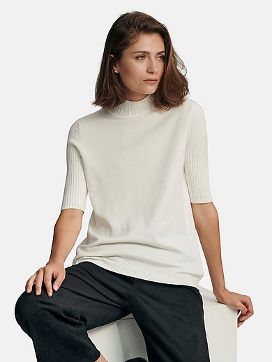 Gerry Weber - Roll-neck jumper with short sleeves