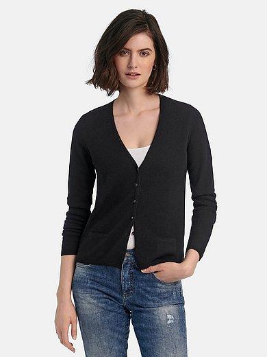 include - La veste en maille en 100% Premium-cachemire