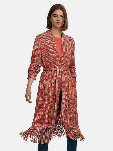 Marc Cain - Knitted coat with drop shoulder