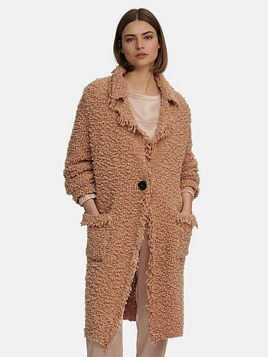 Marc Cain - Knitted coat with revere collar