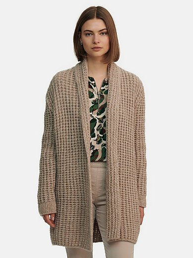 Marc Cain - Knitted coat in wool mix