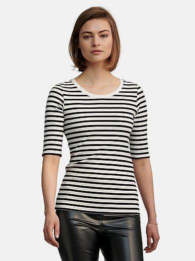 Marc Cain - Le T-shirt en jersey côtelé