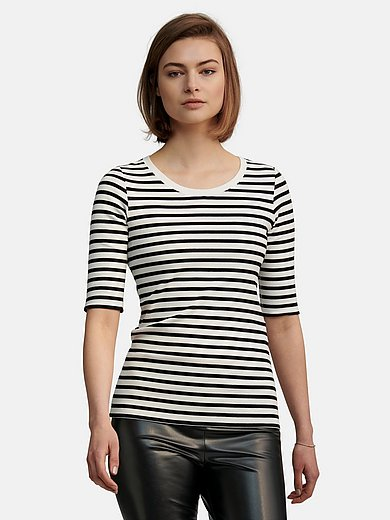 Marc Cain - Ribbed jersey top