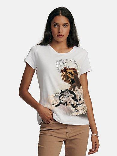Marc Cain - Le T-shirt à encolure arrondie
