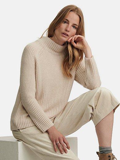 Lecomte - Pullover mit Stehbundkragen