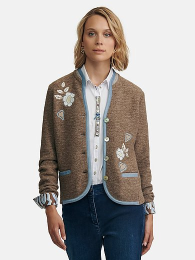 JUST WHITE Country Love - Cardigan