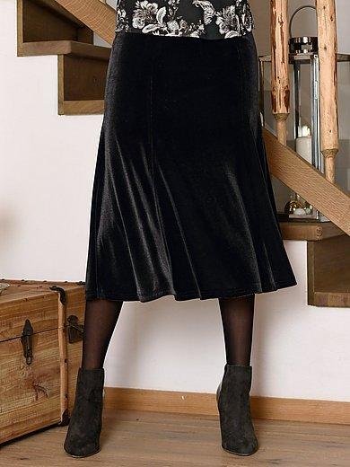 portray berlin - Kjol i krossad sammet